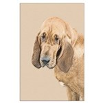 Bloodhound Large Poster
