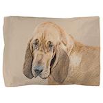 Bloodhound Pillow Sham