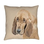 Bloodhound Everyday Pillow