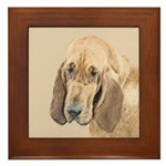 Bloodhound Framed Tile