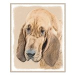 Bloodhound Small Poster