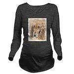 Bloodhound Long Sleeve Maternity T-Shirt