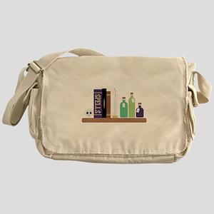 Spell Books Messenger Bag