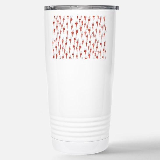 Oompa Loompa Pattern Stainless Steel Travel Mug