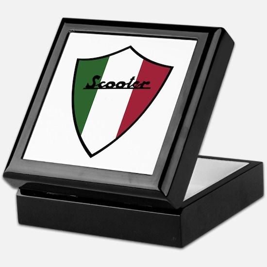 Scooter Shield Keepsake Box