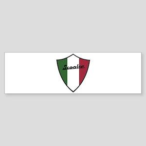 Scooter Shield Bumper Sticker