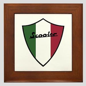 Scooter Shield Framed Tile