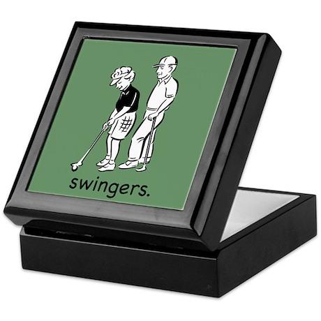 Swingers Keepsake Box