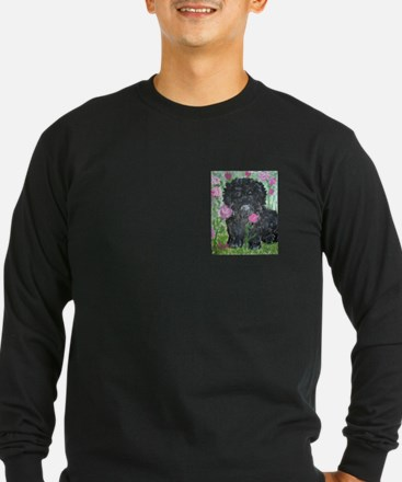 Unique Black maltese T