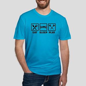 Eat Sleep Play Darts Men's Fitted T-Shirt (dark)