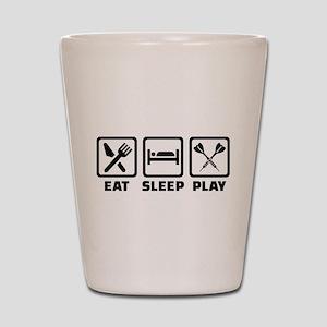 Eat Sleep Play Darts Shot Glass