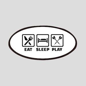 Eat Sleep Play Darts Patch