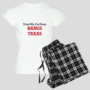 Trust Me, I'm from Bangs Te Women's Light Pajamas