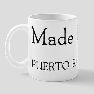 Made In Puerto Rico Mug