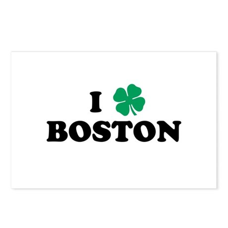 Boston Clover Postcards (Package of 8)
