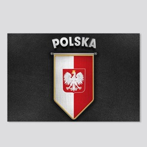 Poland Pennant with high Postcards (Package of 8)