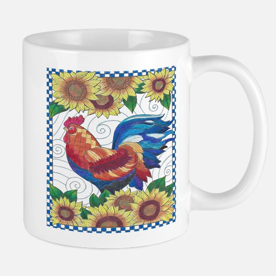 Country Rooster Mugs
