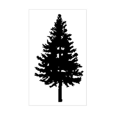 Oregon Douglas-fir Rectangle Sticker