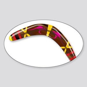 Decorated Boomerang Sticker