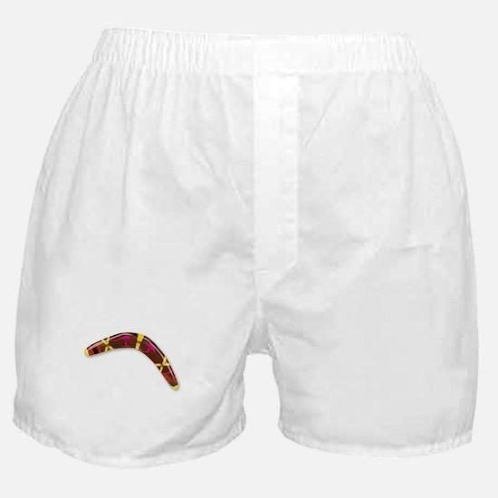 Decorated Boomerang Boxer Shorts