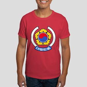 South Korea Coat of Arms Dark T-Shirt