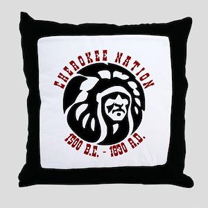 Cherokee Nation Throw Pillow