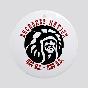 Cherokee Nation Ornament (Round)