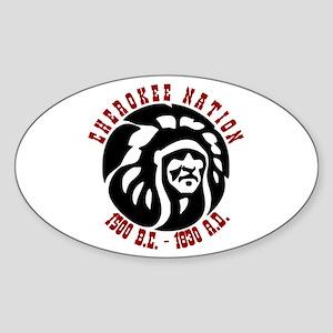 Cherokee Nation Oval Sticker