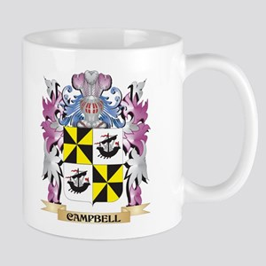 Campbell-- Coat of Arms (Family Crest) Mugs