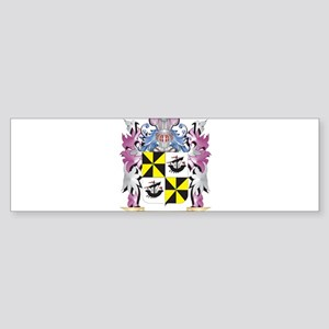 Campbell-- Coat of Arms (Family Cre Bumper Sticker