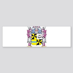 Campbell- Coat of Arms (Family Cres Bumper Sticker