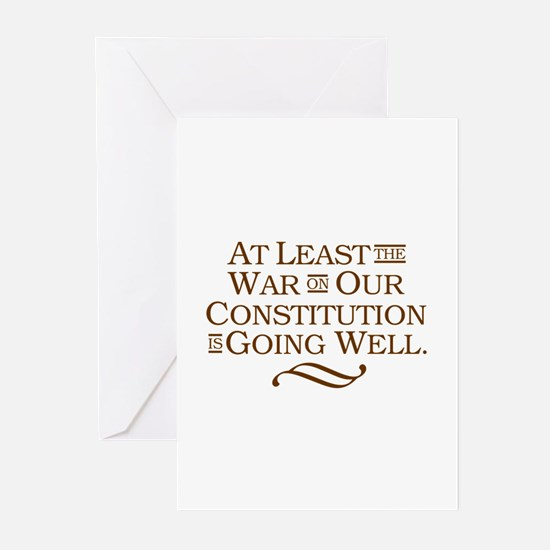 War on Constitution Greeting Cards (Pk of 10)
