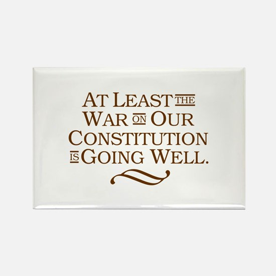 War on Constitution Rectangle Magnet