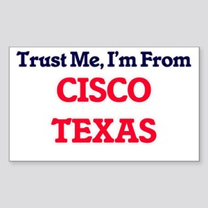 Trust Me, I'm from Cisco Texas Sticker