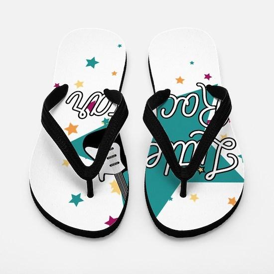 Cool Rock star Flip Flops