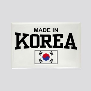 Made In Korea Rectangle Magnet