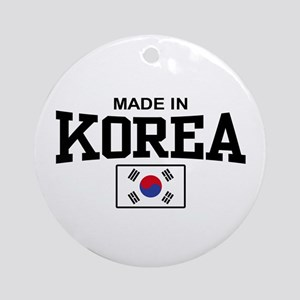 Made In Korea Ornament (Round)