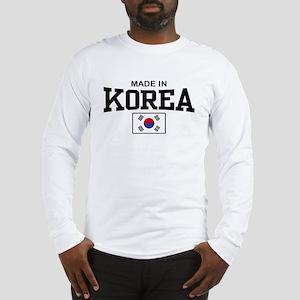 Made In Korea Long Sleeve T-Shirt