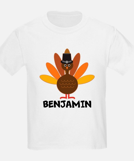 Thanksgiving Personalized Turkey T-Shirt