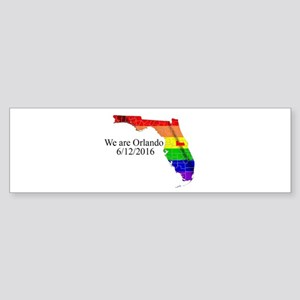 We are Orlando Bumper Sticker