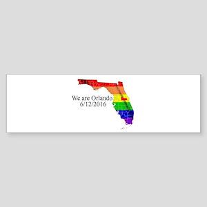 We are Orlando Bumper Sticker