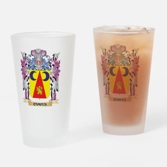 Campus Coat of Arms (Family Crest) Drinking Glass