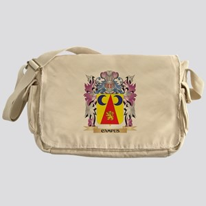 Campus Coat of Arms (Family Crest) Messenger Bag