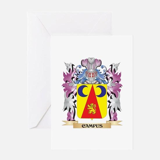 Campus Coat of Arms (Family Crest) Greeting Cards