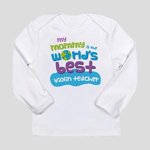 Violin Teacher Gift for Long Sleeve Infant T-Shirt