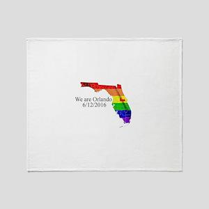 We are Orlando Throw Blanket