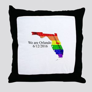 We are Orlando Throw Pillow