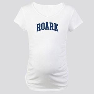 ROARK design (blue) Maternity T-Shirt