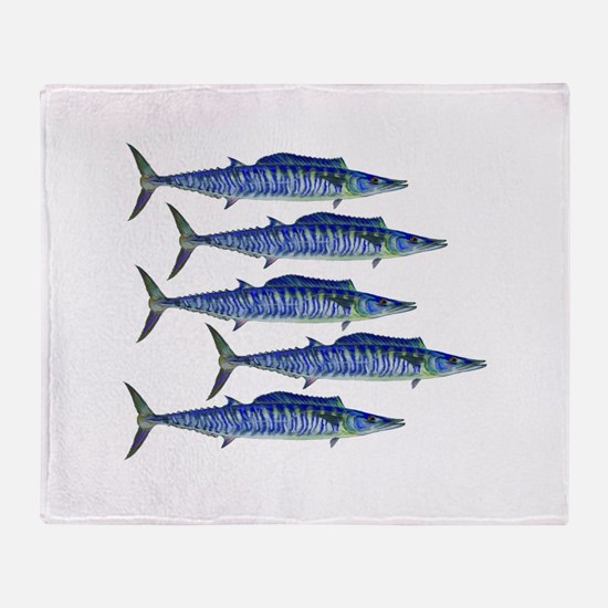 WAHOO Throw Blanket
