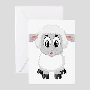 Sheep Greeting Cards